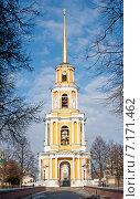 Купить «Красивый вид на Соборную колокольню с Глебовского моста в Рязанском Кремле», фото № 7171462, снято 5 марта 2015 г. (c) Татьяна Кахилл / Фотобанк Лори