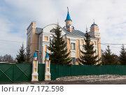 Купить «Соборная мечеть Аль-Джума в городе Вологде», фото № 7172598, снято 11 марта 2015 г. (c) Николай Мухорин / Фотобанк Лори