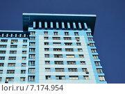 Купить «Двадцативосьмиэтажный пятиподъездный монолитный жилой дом. Авиационная улица, 59. Москва», эксклюзивное фото № 7174954, снято 13 марта 2015 г. (c) lana1501 / Фотобанк Лори