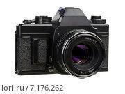 Старая пленочная фотокамера. Стоковое фото, фотограф Михаил Иванцов / Фотобанк Лори