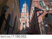 Купить «Меншикова башня, также известная как церковь Архангела Гавриила», фото № 7180002, снято 18 февраля 2015 г. (c) Pukhov K / Фотобанк Лори
