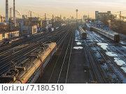 Российская железная дорога (2015 год). Редакционное фото, фотограф Сафонова Елена / Фотобанк Лори