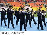 Купить «Полицейский духовой оркестр», фото № 7187370, снято 19 октября 2013 г. (c) Free Wind / Фотобанк Лори