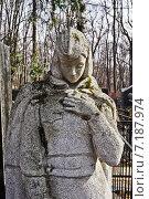 Купить «Введенское кладбище», фото № 7187974, снято 29 марта 2014 г. (c) Sashenkov89 / Фотобанк Лори