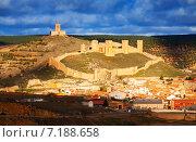General view of castle of Molina de Aragon (2014 год). Стоковое фото, фотограф Яков Филимонов / Фотобанк Лори