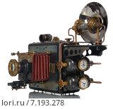 Купить «Ретро-футуристическая модель фотоаппарата», фото № 7193278, снято 29 марта 2015 г. (c) Валерий Александрович / Фотобанк Лори
