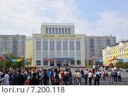 Празднование Дня металлурга в Норильске (2014 год). Редакционное фото, фотограф Николай Новиков / Фотобанк Лори