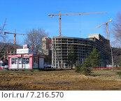 Купить «Офис показов ГК «Мортон» строящегося жилого комплекса «Рождественский». Город Мытищи», эксклюзивное фото № 7216570, снято 19 марта 2015 г. (c) lana1501 / Фотобанк Лори
