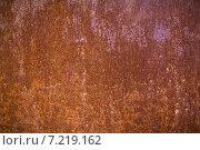 Ржавый металлический фон. Стоковое фото, фотограф LenaLeonovich / Фотобанк Лори