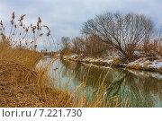 Весна на речке. Стоковое фото, фотограф Сергей Коровин / Фотобанк Лори