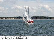 Купить «Яхты на воде», эксклюзивное фото № 7222742, снято 12 июля 2008 г. (c) Svet / Фотобанк Лори