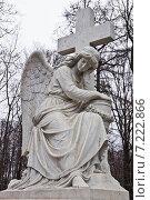 Купить «Введенское кладбище», фото № 7222866, снято 5 апреля 2014 г. (c) Sashenkov89 / Фотобанк Лори
