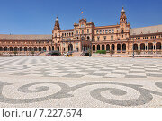 Купить «Plaza de Espana (Place d' Espagne), built between 1914 and 1928 by the architect Anibal Gonzalez, Sevilla, Andalucia, Spain», фото № 7227674, снято 27 марта 2019 г. (c) BE&W Photo / Фотобанк Лори