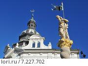 Купить «Slovenia, Maribor, Memorial dedicated to St. Florian erected after fire in the year 1700», фото № 7227702, снято 20 мая 2019 г. (c) BE&W Photo / Фотобанк Лори