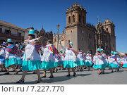 Купить «peru - traditional cusco days festivalPeru, Cuzco, Traditional Days Festival», фото № 7227770, снято 8 декабря 2019 г. (c) BE&W Photo / Фотобанк Лори