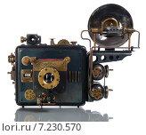 Купить «Модель фотоаппарата в стиле стимпанк», фото № 7230570, снято 31 марта 2015 г. (c) Валерий Александрович / Фотобанк Лори