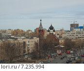 Купить «Нижний Новгород. Вид на улицу Белинского», фото № 7235994, снято 1 апреля 2015 г. (c) Ельцов Владимир / Фотобанк Лори