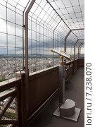 Обзорная площадка Эйфелевой башни. Стоковое фото, фотограф Белов Дмитрий / Фотобанк Лори
