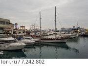 Яхты в морпорту Сочи (2014 год). Редакционное фото, фотограф Руслан Нунаев / Фотобанк Лори