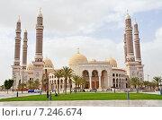 Купить «Йемен, Сана: Al-Saleh Mosque - президентская мечеть», фото № 7246674, снято 18 марта 2014 г. (c) Овчинникова Ирина / Фотобанк Лори