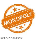 Monopoly grunge icon. Стоковая иллюстрация, иллюстратор Иван Рябоконь / Фотобанк Лори