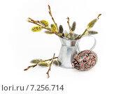 Купить «Пасхальная композиция», фото № 7256714, снято 14 апреля 2015 г. (c) Наталья Осипова / Фотобанк Лори