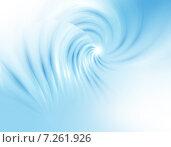 Купить «Абстрактный голубой фон для дизайна», иллюстрация № 7261926 (c) ElenArt / Фотобанк Лори