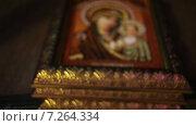 Купить «Православные иконы», видеоролик № 7264334, снято 31 мая 2013 г. (c) Потийко Сергей / Фотобанк Лори