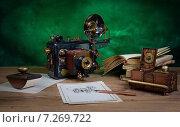 Купить «Фотоаппарат в стиле стимпанк», фото № 7269722, снято 6 апреля 2015 г. (c) Валерий Александрович / Фотобанк Лори