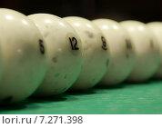 Бильярдные шары. Стоковое фото, фотограф Иван Лебедев / Фотобанк Лори