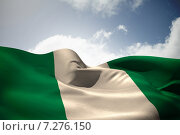 Купить «Composite image of nigeria flag waving», фото № 7276150, снято 19 августа 2018 г. (c) Wavebreak Media / Фотобанк Лори