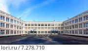 Школьный двор. Стоковое фото, фотограф Иван Лебедев / Фотобанк Лори