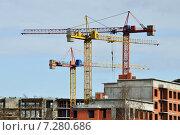 Купить «Стройка», фото № 7280686, снято 18 апреля 2015 г. (c) Сергей Трофименко / Фотобанк Лори