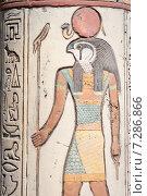 Символы Древнего Египта, высеченные на камне (2015 год). Стоковое фото, фотограф Oleksii Pyltsyn / Фотобанк Лори