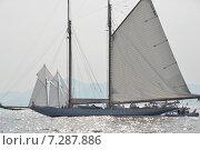 Парусная яхта. Канны. Стоковое фото, фотограф Беличенко Анна Сергеевна / Фотобанк Лори