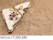 Купить «Орден Отечественной войны и старые письма», фото № 7293430, снято 21 апреля 2015 г. (c) Наталья Осипова / Фотобанк Лори
