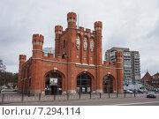 Купить «Калининград. Королевские ворота», эксклюзивное фото № 7294114, снято 18 апреля 2015 г. (c) Литвяк Игорь / Фотобанк Лори