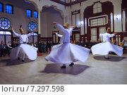 Купить «Стамбул, Турция. Танцы крутящихся дервишей», фото № 7297598, снято 21 апреля 2015 г. (c) Илюхина Наталья / Фотобанк Лори
