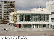 Здание Театра юного зрителя в Екатеринбурге после реконструкции (2015 год). Редакционное фото, фотограф Евгений Кузнецов / Фотобанк Лори