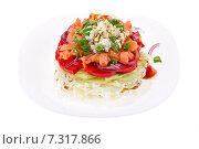 Купить «refined salad», фото № 7317866, снято 26 апреля 2011 г. (c) Goinyk Volodymyr / Фотобанк Лори