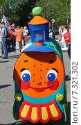 Купить «Паровозик», фото № 7321302, снято 3 августа 2014 г. (c) Ирина Здаронок / Фотобанк Лори
