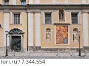 Купить «Slovenia, Ljubljana, Saint Nicholas Cathedral, Ljubljana», фото № 7344554, снято 22 августа 2019 г. (c) BE&W Photo / Фотобанк Лори