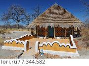 Купить «Botswana Planet baobab Botswana, Africa, planet baobab, shanty, cottage CWO_028Africa, Botswana, swimming pool and hut», фото № 7344582, снято 27 июня 2019 г. (c) BE&W Photo / Фотобанк Лори