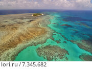 Купить «Australia, Queensland, Green Island, Great Barrier Reef», фото № 7345682, снято 16 января 2019 г. (c) BE&W Photo / Фотобанк Лори
