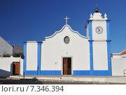 Купить «Church in Vila Nova de Milfontes – PortugalPortugal, Church in Vila Nova de Milfontes», фото № 7346394, снято 20 марта 2019 г. (c) BE&W Photo / Фотобанк Лори