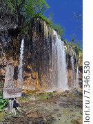 Купить «Croatia, Plitvicka Jezera, Plitvice Lakes National Park, Plitvice Lakes National Park», фото № 7346530, снято 19 августа 2019 г. (c) BE&W Photo / Фотобанк Лори