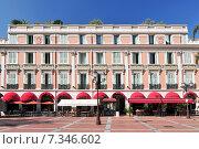Купить «Place d Armes, Monaco, Cote d Azur, Mediterranean, Europe», фото № 7346602, снято 18 июня 2019 г. (c) BE&W Photo / Фотобанк Лори