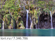 Купить «Croatia, Plitvicka Jezera, Plitvice Lakes National Park, Plitvice Lakes National Park», фото № 7346786, снято 18 декабря 2018 г. (c) BE&W Photo / Фотобанк Лори