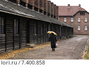 Купить «SS barracks in the Auschwitz-Birkenau Former Nazi German Concentration Camp», фото № 7400858, снято 7 ноября 2003 г. (c) Caro Photoagency / Фотобанк Лори