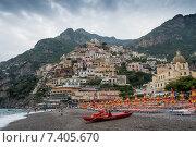 Италия, Позитано (Positano) (2014 год). Редакционное фото, фотограф Tatiana Dubova / Фотобанк Лори
